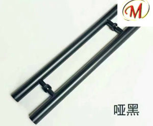 Stainless Steel Door Handle with Sanding Finish pictures & photos