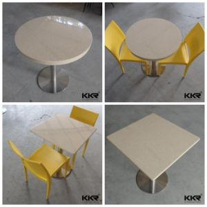 Modern Furniture Round Shape Coffee Shop Resin Table pictures & photos