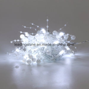LED String Lights 50 LEDs Decorative Fairy Battery Powered String Lights Copper Wire Light for Bedroom Wedding pictures & photos