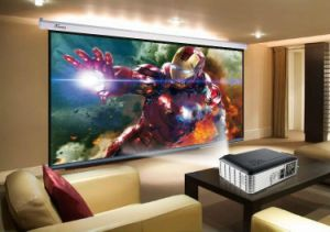 Yi-806 LED Smart Projector Android WiFi 2800lumen Beamer 3D 720p Portable Home Theatre Proyector HD LCD Projector pictures & photos