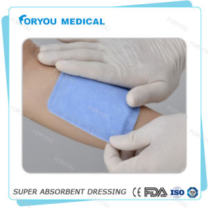 China Supplier New Diabetic Waterproof Wound Care Optilock Dressing Super Absorbent Polymer Core Dressing pictures & photos