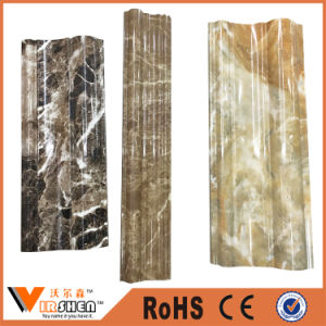 China Cheap PVC Decorative Baseboard pictures & photos