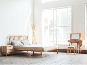 Oak Home Bedroom Set Modern Wooden Bedroom Living Room Furniture pictures & photos
