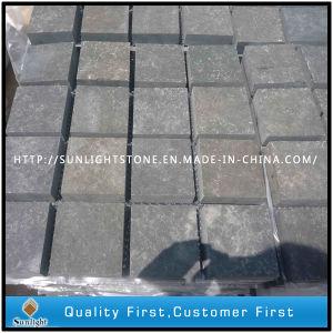 (100X100X50mm) Black Basalt Rock/Natural Split Surface Granite Paving Stone Cobble Stone pictures & photos