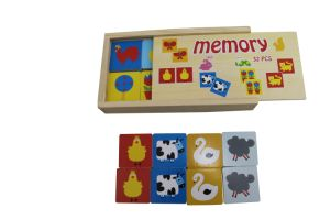 Hot Christmas Gift 32PCS Wooden Memory Game Toys for Kids pictures & photos