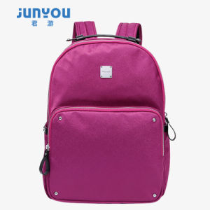 Latest Fashion Contracted Canvas Backpack Female Leisure Bag pictures & photos