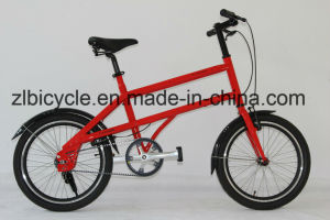 20′′ City Bike Alloy Bike with V-Brake Belt Drive Single Speed (bag packed bike) pictures & photos