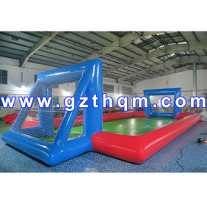 New Design Inflatable Football Field/Football Court Inflatable Soap Football Field pictures & photos