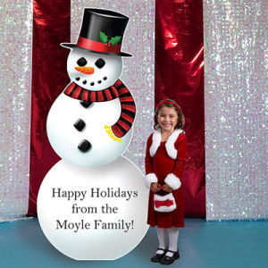 Latest Fshionable Christmas Cardboard Cutout Standup Standee for Display Show pictures & photos