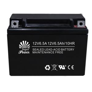 Maintenance Free Motorcycle Battery (12N6.5A) with Voltage 12V and Capacity 6.5ah, AGM Type pictures & photos
