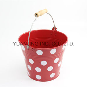Hot Sale Metal Galvanized Colorful Bucket pictures & photos