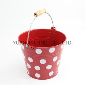 Hot Sale Metal Galvanized Colorful Bucket