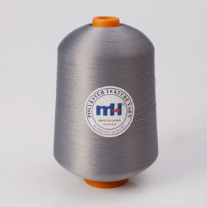 100% Spun Polyester Overlocking Thread for Industrial Use pictures & photos