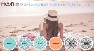 Hot Selling Custom Round Towel pictures & photos