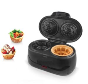 2 Mini Ice Cream Waffle Cone Maker Waffle Bowl Maker