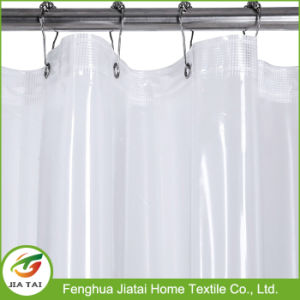 Waterproof Premium Mildew Resistant Clear PEVA Shower Curtain pictures & photos