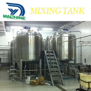 Stainless Steel Sanitary High Speed Mixer Tank pictures & photos