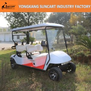 Custom Golf Cart (EZGO car body) , Customized Electric Golf Cart, 4 Seater Electric Car Used in Amusement Park pictures & photos