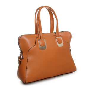 Lady Handbag Fashion Tote Bag Shoulder Leather Top Handle Bag pictures & photos