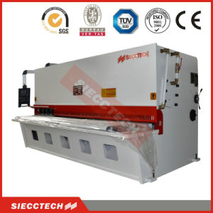 QC12y Hydraulic Swing Beam Guillotine Shearing Machine pictures & photos