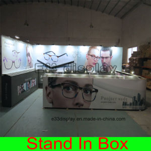 New fashion Design Portable Modular Glasses Exhibition Booth with Acrylic Panels pictures & photos