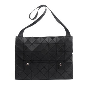 Black PU Rhombic Geometry Designer Handbag (A0113-1) pictures & photos