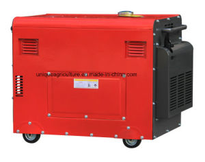 6kw Silent Diesel Generator Set Powered by Cummins Engine pictures & photos
