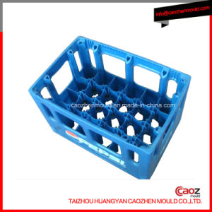 Unique Design 12 Bottle Beer Crate Mould in Huangyan pictures & photos