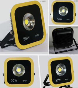 High Quality COB 30W Yellow Color LED Plaza Light/Lawn Light/Square Light/Warehouse Light/Hotel Light/Park Light/Garden Light LED Flood Light pictures & photos