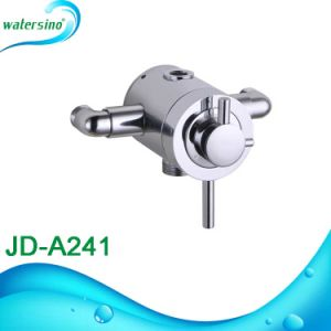 Bathroom Hot and Cold Water Mixing Surface Mounted Thermostat Shower Faucet pictures & photos