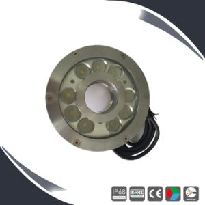 24V IP68 RGB Stainless Steel Underwater LED Lights for Fountains pictures & photos