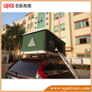 Upal Outdoor Fiberglass Hard Shell Car Roof Top Tent pictures & photos