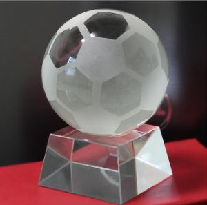Noble Crystal Sports Trophy for Football pictures & photos