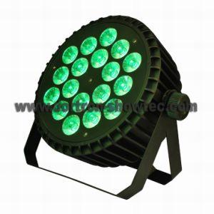 Flat LED PAR RGBW 18X8w