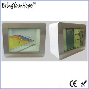 15 Inch Transparent LCD Display Ad Player Showcase (XH-DPF-150C) pictures & photos