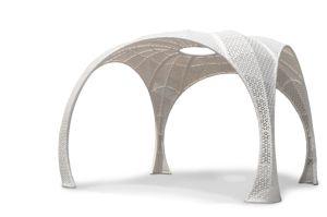 Modern Outdoor Furniture Rattan Big Gazebo in Garden pictures & photos