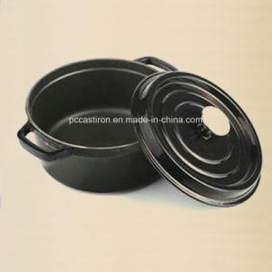 Dia 28cm Enamel Cast Iron Casserole Pot Dutch Oven 7.2L pictures & photos