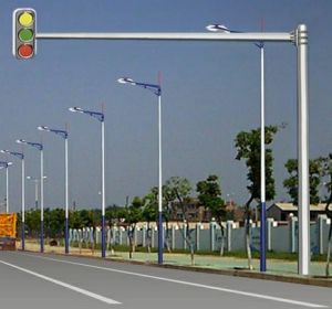 High Quality 6m Height Outdoor Traffic Pole pictures & photos