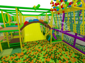 Indoor Amusement Park Equipment Kids Toy Soft Play Area Playground Set pictures & photos