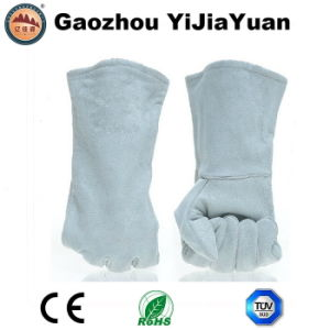 High Quality Leather Welding Industrial Glove From Factory with Ce pictures & photos