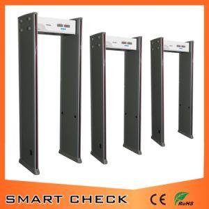 High Quality 6 Zones Door Frame Metal Detector pictures & photos