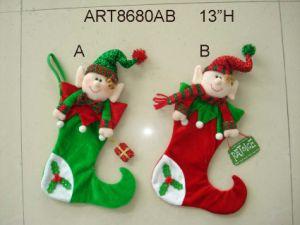 "12""H Decoration Christmas Doorknob Elf -2asst pictures & photos"