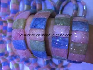 Semi Precious Stone Morganite Spacer Bracelet pictures & photos