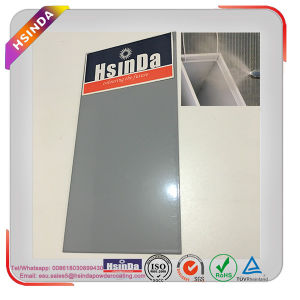 Outdoor High Light Ral 7040 Light Grey Powder Coating for Aluminum Windows/Doors pictures & photos