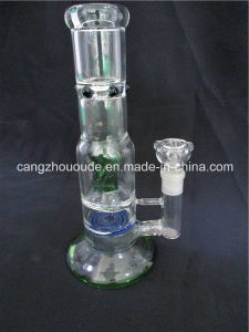 Hand Blown Percolator Glass Bubble Pipe pictures & photos