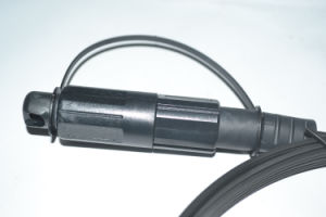Sc/APC FTTH Drop Cable Waterproof Patchcord Fiber Optic Jumper pictures & photos