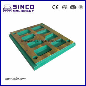 High Manganese Crusher Parts Quality Jaw Plate