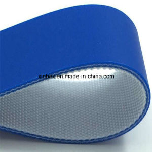 PU Blue Food Grade 2ply Conveyor Belt pictures & photos