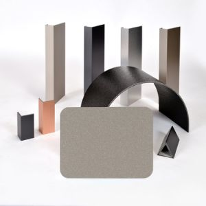 Aluis Exterior 3mm Aluminium Composite Panel-0.30mm Aluminium Skin Thickness of PVDF Champagne Gold pictures & photos