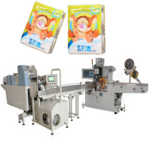 Pocket Tissue Napkin Packing Making Machine pictures & photos
